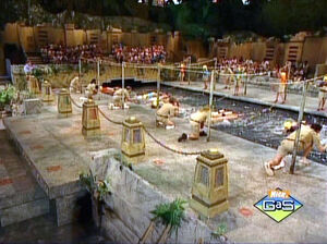 Legends of the Hidden Temple moat