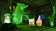 SpongeBob SquarePants 4D The Great Jelly Rescue SpongeBob, Patrick & Sandy with the Flying Dutchman
