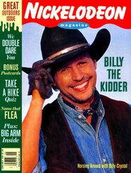 Nickelodeon Magazine cover June July 1994 Billy the Kidder