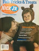 Nick Jr Family Magazine cover Oct 2006