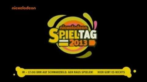 Nickelodeon Spieltag 2013 Countdown zum Schwarzbild