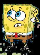 SpongeBob confused
