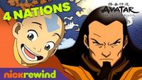 The History of the Four Nations! 🌎🔥🌊 ☁️ Avatar The Last Airbender NickRewind