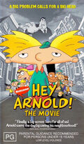 Hey Arnold- The Movie Australia VHS Front Cover