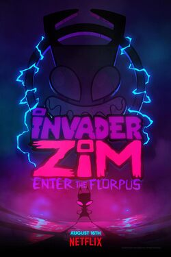 Invader Zim Enter the Florpus 2019 poster