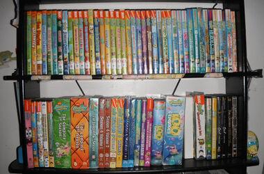 Jensonk's SpongeBob DVD collection