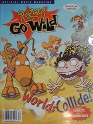 Rugrats Go Wild Movie Magazine 2003 Nick Mag Presents