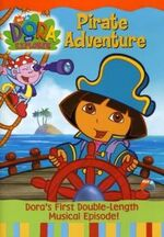 Dora the Explorer Pirate Adventure DVD