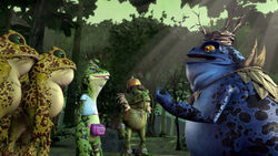The punk frogs