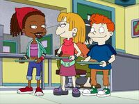 Susie, Angelica, and Harold