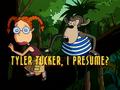 Tyler Tucker, I Presume? title