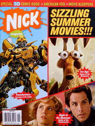 Nick Magazine cover June 2009 Summer movies