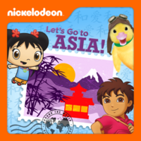 Nickelodeon - Let's Go To Asia! 2013 iTunes Cover