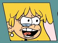 Ugly cartoon face