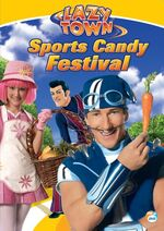 LazyTown - Sports Candy Festival DVD Cover