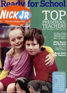 Nick Jr Family Magazine cover Sept 2006
