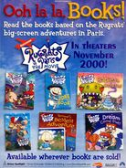 Rugrats in Paris books print ad NickMag Nov 2000