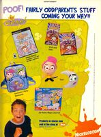 Fairly OddParents stuff print ad Nick Mag Nov 2003
