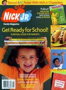 Nick Jr Family Magazine cover Sept 2004