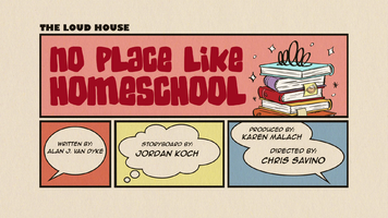 No Place Like Homeschool Title