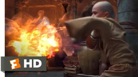 The Last Airbender (2010) - Aang vs