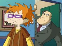 Chuckie and Principle Pangborn
