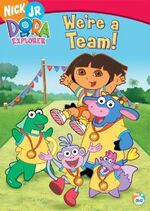 Dora the Explorer We're a Team DVD