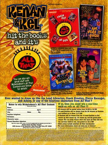 File:Nickelodeon magazine October 1998 kenan & Kel All that advertisement.jpg