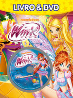 Livro-dvd-nickelodeon-winx-club