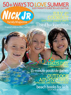 Nick Jr Family Magazine cover June July 2006