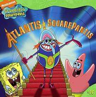 SpongeBob Atlantis SquarePantis Book