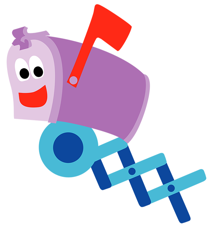 Mailbox blues clues Song Mailbox Is Main Character In Blues Clues Hes Mailbox Who Lives At The Pathway Foot In Front Of Blues House He Is Sitting On Post Receiving The Nickelodeon Fandom Mailbox Nickelodeon Fandom Powered By Wikia