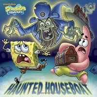 SpongeBob Haunted Houseboat Book