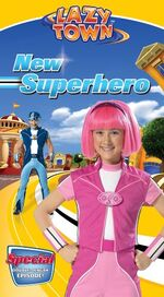 LazyTown - New Superhero VHS Cover