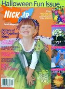 Nick Jr Family Magazine cover Oct 2004