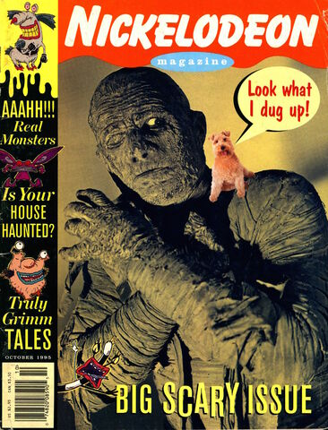 File:Nickelodeon Magazine cover October 1995 Scary Halloween.jpg