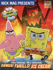 Nick Mag Presents Spongebob Movie Magazine 2004