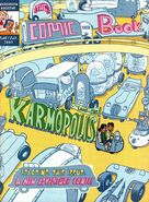 Nickelodeon Magazine The Comic Book cover June July 2003 karmopolis