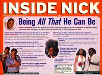 Kenan Thompson Interview Inside Nick Mag May 2005 All That
