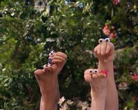 Oobi Frieda Foot Noggin Nick Jr TV Series 4