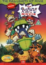 The Rugrats Movie UK DVD Front Cover