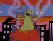 Rugrats Reptar On Ice