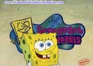 SpongeBob theme song cel
