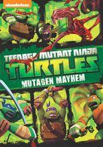 TMNT Mutagen Mayham DVD