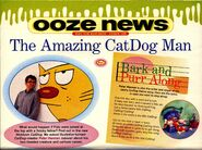 Nickelodeon Magazine October 1998 CatDog Peter Hannan interview pg 1
