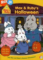 Max & Ruby - Max & Ruby's Halloween DVD Cover