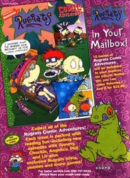 Rugrats Comic Adventures Advertisement from Nickelodeon Magazine December 1998
