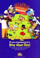 Kids&Family Nickelodeon 20 Years Print Advertisement