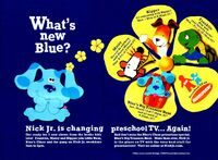 Nick Jr New Shows Print Advertisement