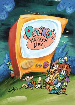 Rocko Season 3 cover artwork